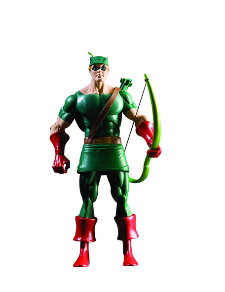 DC Comics History of The DC Universe: Series 1 Green Arrow