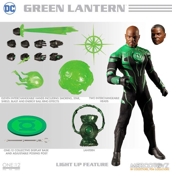 Mezco One: 12 Collective: DC Green Lantern John Stewart