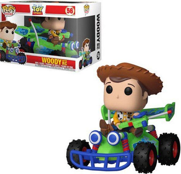 Funko Pop! Rides Disney: Toy Story - Woody with RC