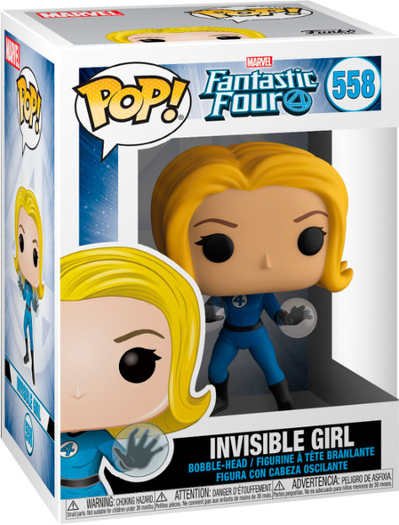 POP Marvel: Fantastic Four - Invisible Girl