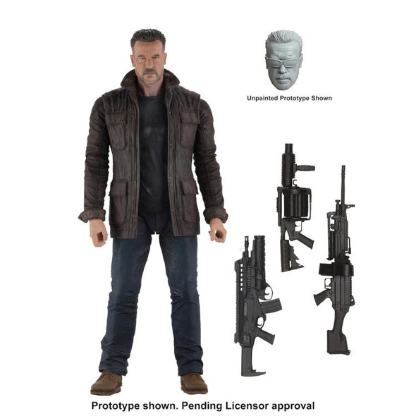 NECA Terminator: Dark Fate T-800 Figure