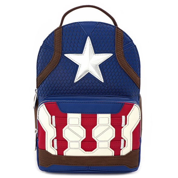 Loungefly Captain America Endgame Hero Mini Backpack