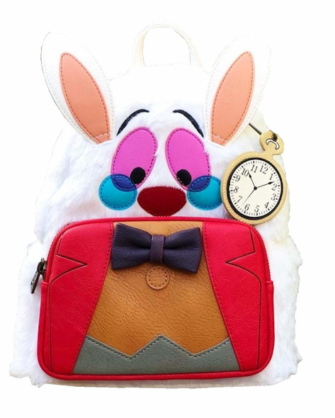 Loungefly Alice in Wonderland White Rabbit Mini Backpack