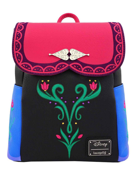 Loungefly Disney Frozen Anna Cosplay Mini Backpack