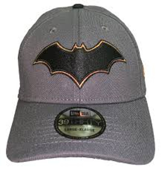New Era Fitted Hat DC Comics Batman Rebirth Logo 80th