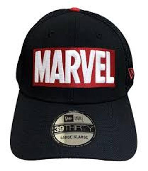 New Era Fitted Hat Marvel Neo Logo 80th