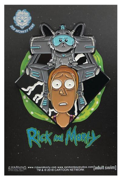 Rick and Morty: Summer and Snowball Pin