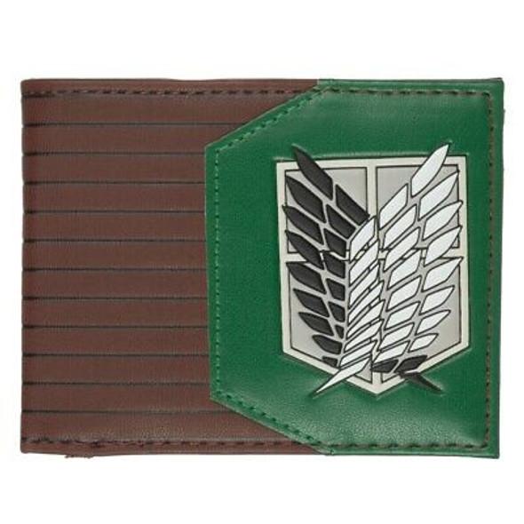 Attack on Titan Green Bi-Fold Wallet