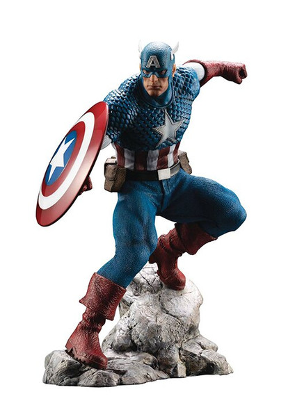Marvel Premier 7 Inch Statue Figure ArtFX - Captain America