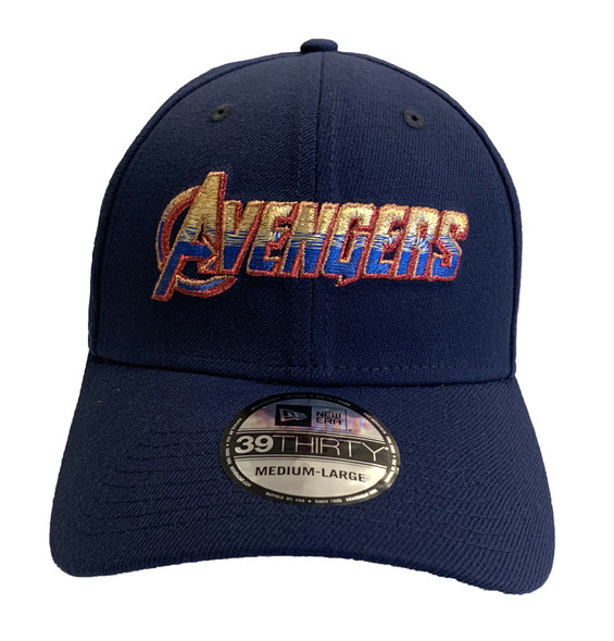 Avengers End Game Logo Marvel 39Thirty New Era Fitted Hat