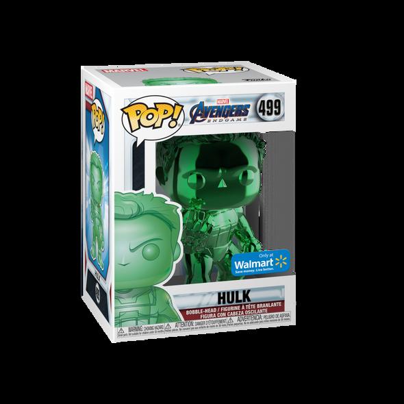 POP! Marvel: Avengers Endgame – W2 – Hulk (Green Chrome)