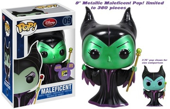 "POP Disney 9"" SDCC Exclusive Maleficent LE360"