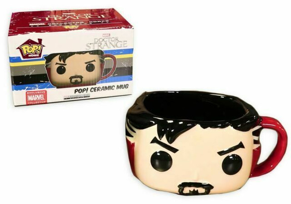 Doctor Strange Ceramic Mug Funko Pop Marvel Collector Corps