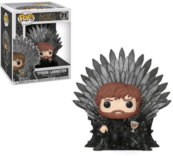 Pop! Deluxe: Game of Thrones - Tyrion Sitting On Iron Throne