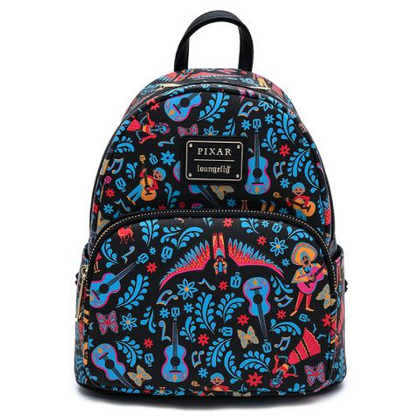 Loungefly Disney Coco AOP Dia De Los Muertos Mini Backpack