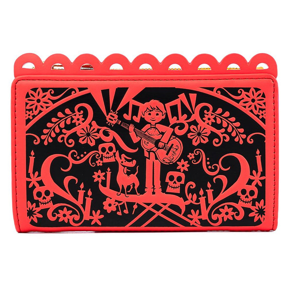 Loungefly Pixar Coco Diecut Party Flags Wallet