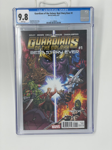 CGC 9.8 Guardians Of The Galaxy: Best Story Ever 1
