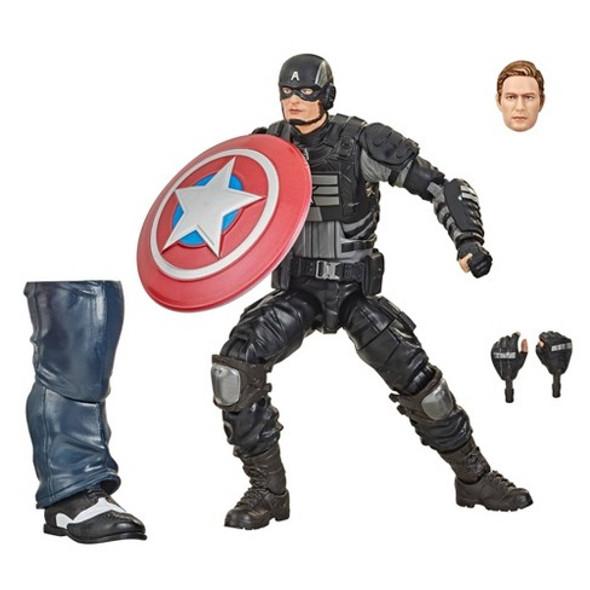 Marvel Legends Series Marvel's Stealth Captain America 6-Inch Figure