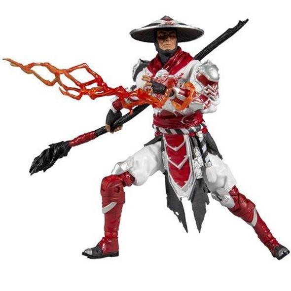 Mortal Kombat Series 4 Raiden White Hot Fury 7-Inch Figure