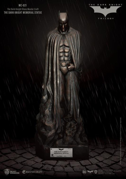 DC Comics The Dark Knight Rises Master Craft: The Dark Night Memorial Statue