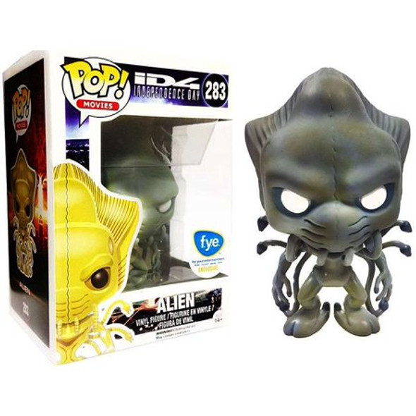 POP! Movies Independence Day 4 Alien FYE Exclusive #283 [Blue / Gray]