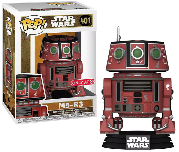 POP Star Wars 401 M5-R3 M5R3 Galaxy's Edge Exclusive