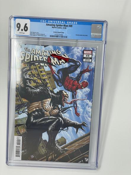 CGC 9.6 Amazing Spider-Man #49 Brooks Variant