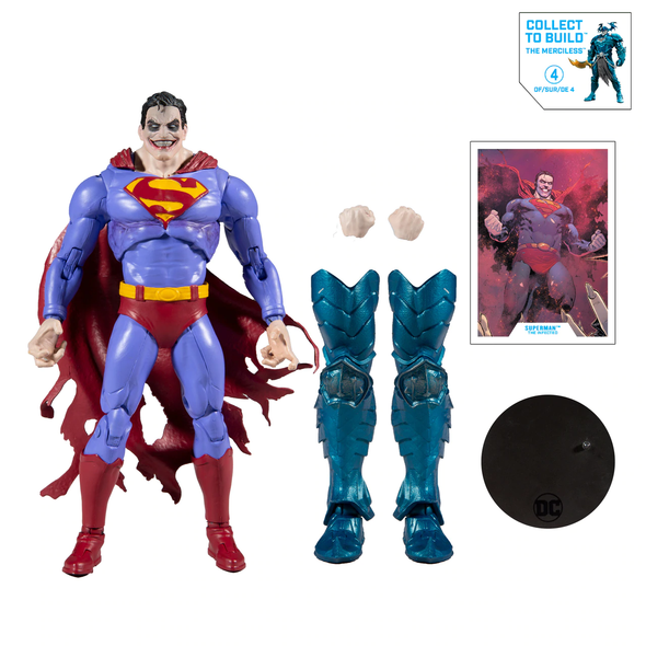 DC Multiverse Infected Superman 7-Inch Figure