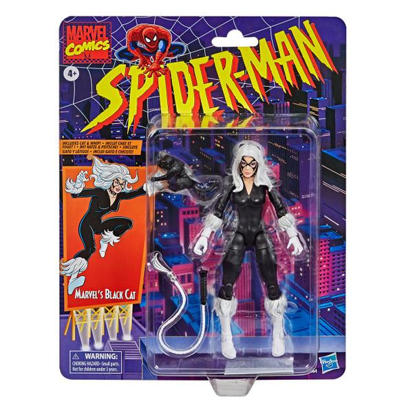 Marvel Legends Spider-Man Retro - Black Cat 6-Inch