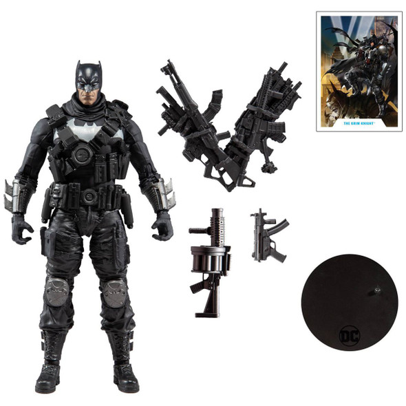 DC Multiverse Dark Nights Metal Metal The Grim Knight 7-Inch