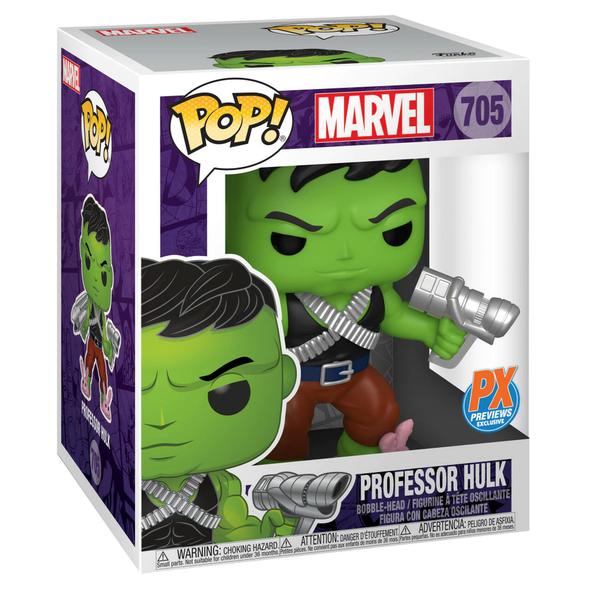"""POP! Marvel Professor Hulk 6"""" Exclusive #705"""