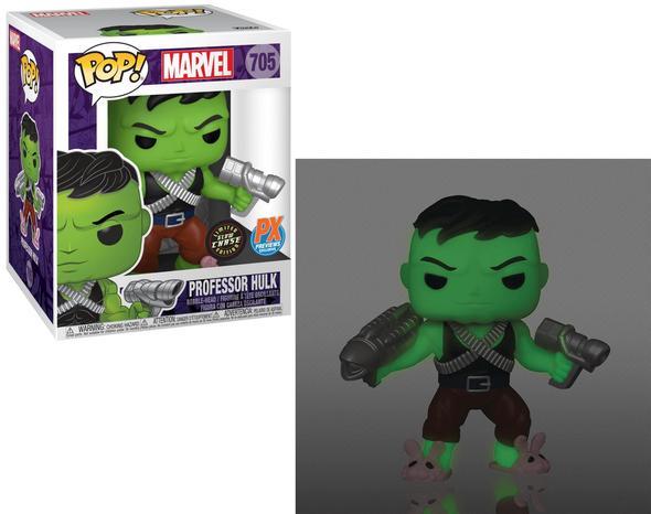 "POP! Marvel Professor Hulk 6"" Exclusive #705 [CHASE]"