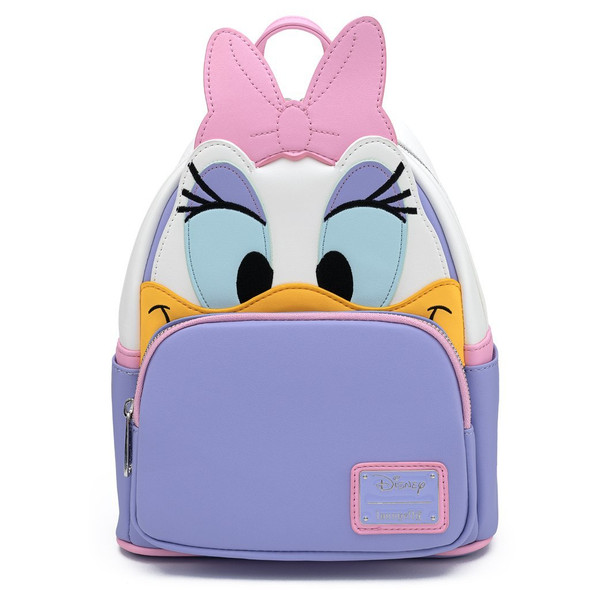 Loungefly Disney Daisy Duck Cosplay Mini Backpack