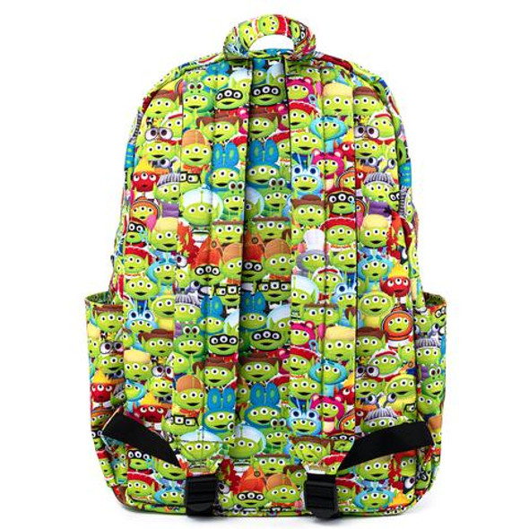 Loungefly Pixar Toy Story Alien Remix Outfits AOP Nylon Backpack