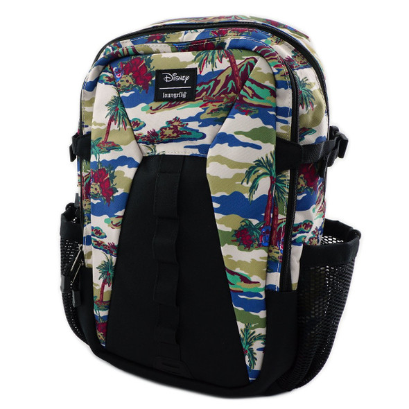 Loungefly Stitch Camo Nylon Backpack