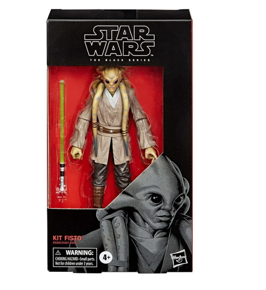 Star Wars Black Series Kit Fisto 6-Inch Figure