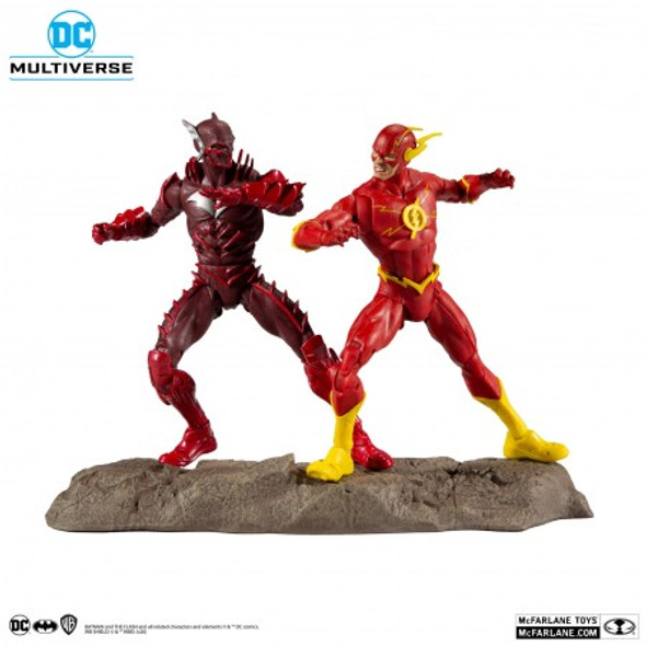 DC Multiverse Earth -52 Batman (Red Death) and The Flash