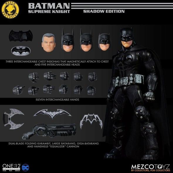 Mezco One:12 Batman Supreme Knight Shadow Edition Exclusive