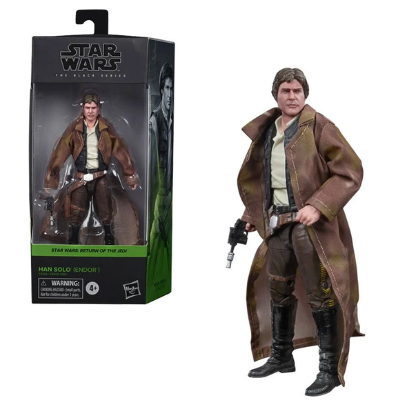 Star Wars The Black Series Han Solo (Endor Trenchcoat)