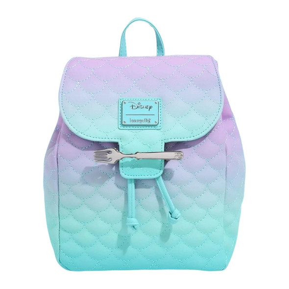 Loungefly Little Mermaid Ombre Mini Backpack