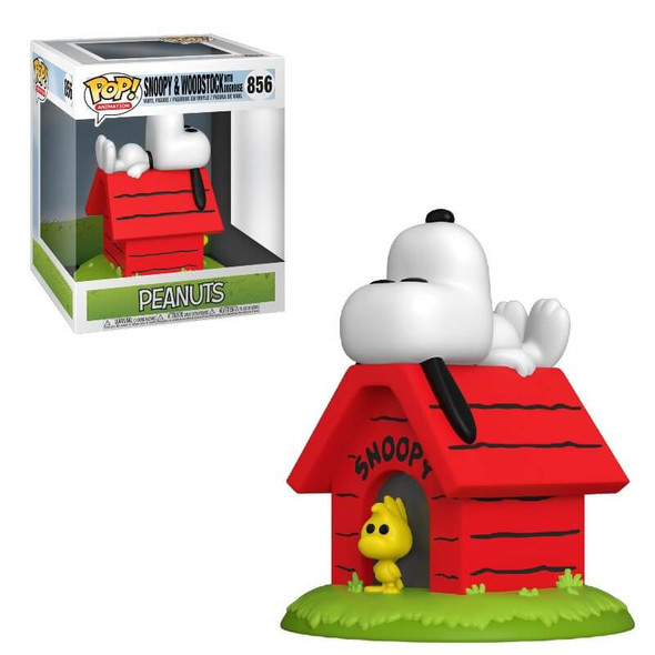 Pop! Deluxe: Peanuts - Snoopy on Doghouse