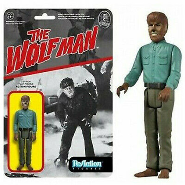 Reaction:  Universal Monsters Series 1 - Wolfman