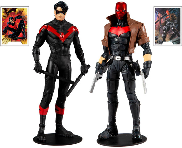 DC Collector Nightwing vs. Red Hood 7-Inch Action Figure 2-Pack