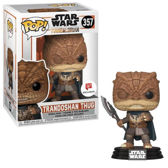 Pop Star Wars: Mandalorian Trandoshan Thug Exclusive