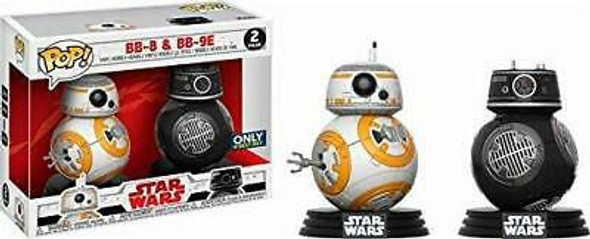 POP! Star Wars Last Jedi: BB-8 and BB9-E 2 Pack (Best Buy Exclusive)