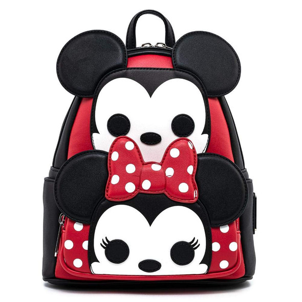 Pop Loungefly Mickey & Minnie Cosplay Mini Backpack
