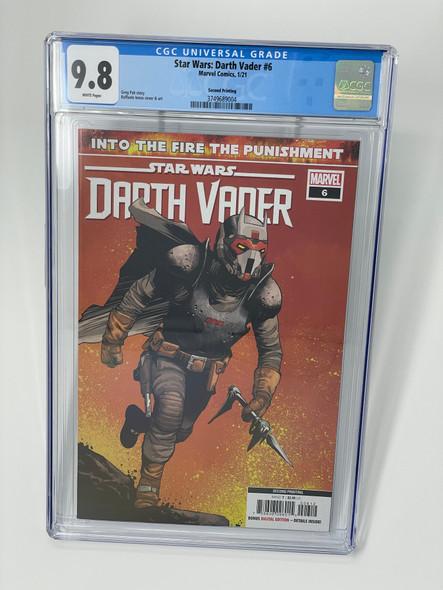 CGC 9.8 Star Wars: Darth Vader #6 Second Print (3749689004)