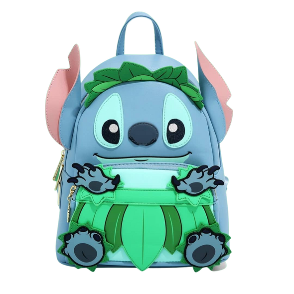 Loungefly Stitch Luau Cosplay Mini Backpack