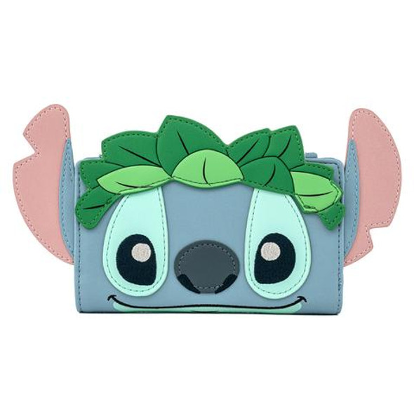Loungefly Stitch Luau Cosplay Bifold Wallet