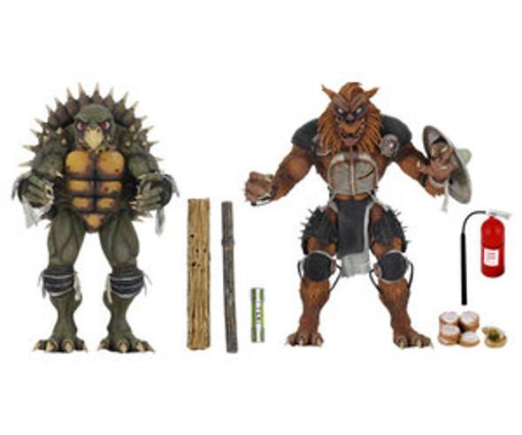 "TMNT (1990 Movie) -7"" Scale-Action Figure – Tokka & Rahza 2 Pack"